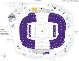 20 Rare Us Bank Stadium Suite Chart