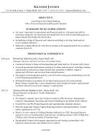 Investment Banking Resume Template Classy Investment Banking Resume Template Beautiful Investment Banking