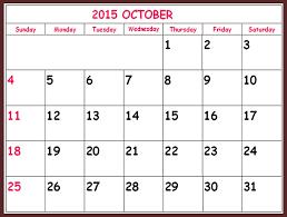 October 2015 Calendar Word Template Image Gaqh At Free Printable Oct