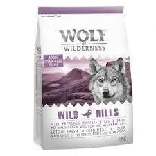 🐱 Analyse et infos sur Wolf of Wilderness Wild Hills canard (croquettes  pour chien) 🐶