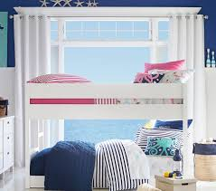 Camden Twin-over-Twin Low Bunk Bed | Pottery Barn Kids