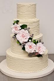 40 Wedding Cake Designs With Elaborate Fondant Flowers Modwedding