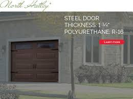 north hatley garage door