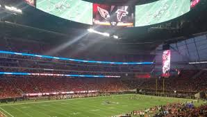 Atlanta Falcons Seating Chart 3d Best Seats For Great Views Of The Field At Mercedes Benz