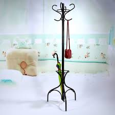 Coat Rack Hanger Stand Hot Sell 100 Hooks Tree Style Hat Coat Clothes Rack Hanger Metal 77