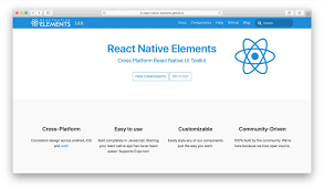 Material Design Lite Pdf 15 React Native Component Libraries You Should Know In 2020