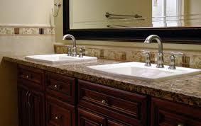 Majestic Bathroom Vanity Granite Countertop