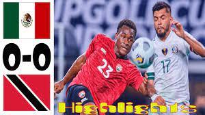 Mexico vs Trinidad and Tobago 0-0 ...