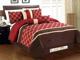 red king size bedding sets incredible cotton king queen size bedding set red bed in a