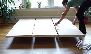 platform bed frame plans twin diy queen cal king