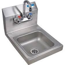 Bkhs W Ss P G Wall Mount Space Saver Hand Sink 9 X 9 In By Bk