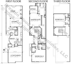 romantic modern row house plans picturesque design home floor plan 5 town