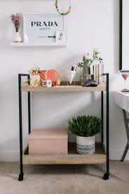 office rolling cart. Finally, Bring Your Rolling Bar Cart Into Home Office, And Turn It The Perfect Place For You To Organize Essentials. Office