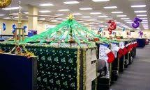 christmas office decorating themes. Christmas Office Decorating Ideas Decoration Themes Desk