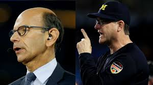 Espn Analyst Trolls Jim Harbaugh Once Again After Nick Saban S