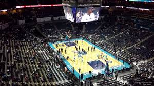 Charlotte Hornets Interactive Seating Chart Spectrum Center Section 202 Charlotte Hornets