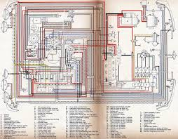wiring diagrams type4 org vw 411 up to 1970