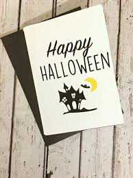 Printable and online halloween cards are our treat to you, so make all you want! Halloween Craft Diy Greeting Card Free Printable And Svg File