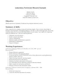 Chemistry Lab Technician Resume Med Tech Resume Sample Biomedical ...