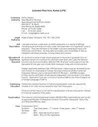 Lpn Resume Template Inspiration Lpn Resume Template Pohlazeniduse