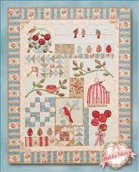 194 best Quilts- Birds/ bird house blocks images on Pinterest ... & Bird Haven Quilt Kit Adamdwight.com