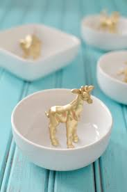 craft gold ring dishes