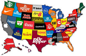 40 maps they didn't teach you in school bored panda What Do Political Maps Show the most famous brand from each state in the us what do political maps show us