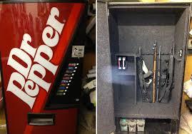 Dr Pepper Vending Machines Amazing Soda Machine Gun Safes 48 Brands BEACH