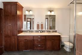 bathroom linen closet design photo 1
