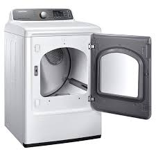 samsung white front load electric dryer dvhew a samsung dv48h7400ew electric dryers acircmiddot main image 1 2 3 4