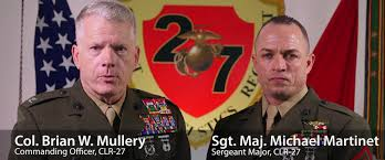 DVIDS - Video - Holiday Message from CLR-27 Col. Mullery and Sgt ...