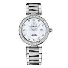omega deville watches beaverbrooks the jewellers omega de ville ladymatic diamond set ladies watch