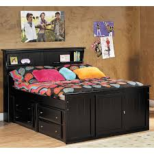 Laguna Full Bookcase Bed With Underbed Storage