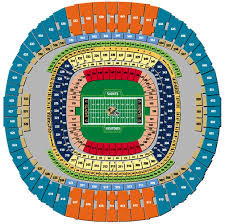 Seating Chart Superdome New Orleans Nfl Football Stadiums New Orleans Saints Stadium