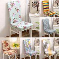 super fit stretch short dining room chair cover protector removable slip covers in chair cover from home garden on aliexpress alibaba group