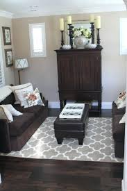 area rug with brown couch best dark brown couch ideas on decor grey area rug with