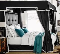 Ken Fulk Adjustable Canopy Bed Frame | Pottery Barn
