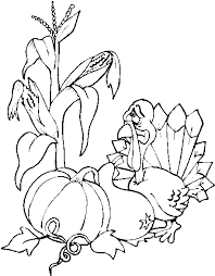 Small Picture More Thanksgiving Coloring Pages
