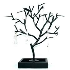 jewelry holder tree inspiring necklace stands original stand how to necklaces wire hanger wooden tr jewelry holder tree