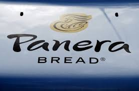 panera logo 2015. Interesting 2015 The Sign On The Hood Of A Delivery Truck For Panera Bread Co Is Seen In  Westminster Colorado February 11 2015 REUTERSRick Wilking Reuters In Logo 2015