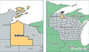 ashland county, wisconsin map of ashland county, wi where is Ashland Map location of ashland county on a map ashland maplewood
