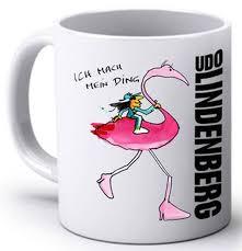 Flamingo Tasse | Udo Lindenberg Cup | Udo Lindenberg