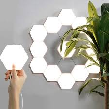 Diy Wall Light Panel C Jq Touch Wall Lamp Quantum Light Diy Living Room Bedroom