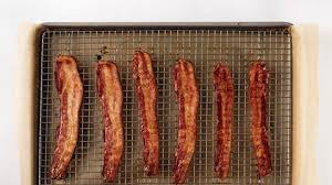 Bacon Cooking Chart