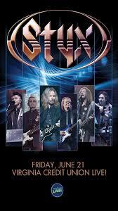 Styx At Virginia Credit Union Live Wklr Classic Rock 96 5