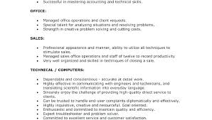 Leadership Skills Resume Examples Leadership Qualities Resume ...