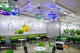 Abeer Flaifel On Twitter A Modern Juice Bar Interior