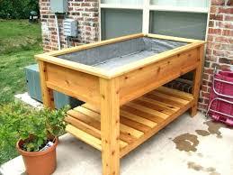 waist high garden beds cedar raised garden beds waist high bed plans building enjoyable waist high