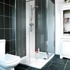 Black tile shower room shower rooms Jamie Mason