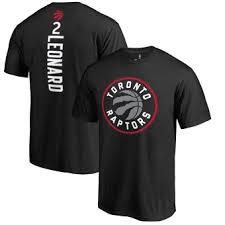 amp; Fanatics Name Number - Raptors Big Leonard Branded Tall Backer T-shirt Red Toronto Kawhi